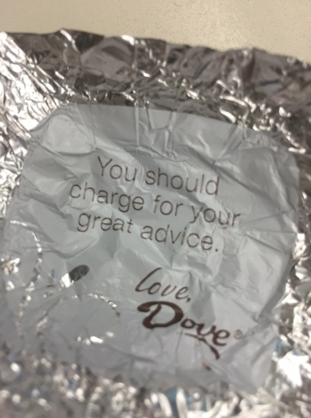 dove you should charge